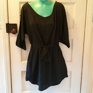 American Eagle black summer dress small
